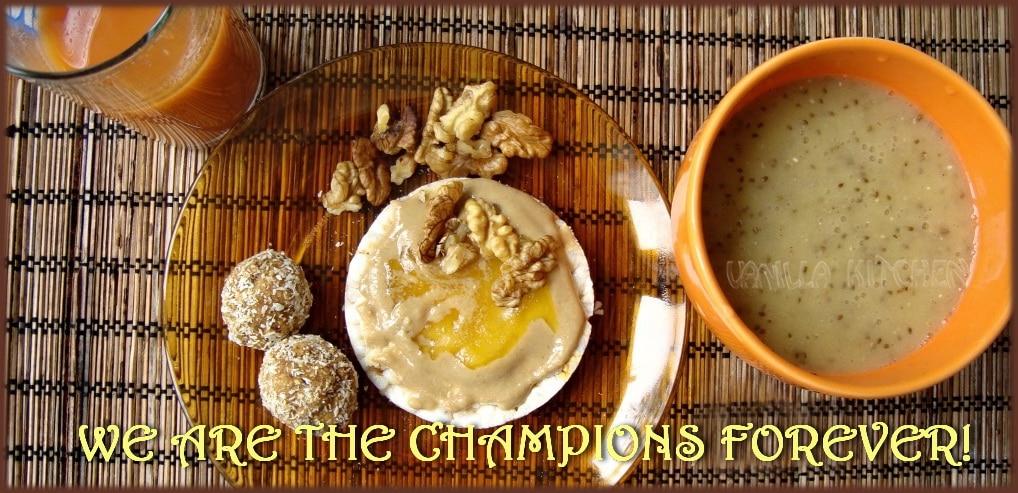 Закуска за шампиони (двете теории за правилна закуска)