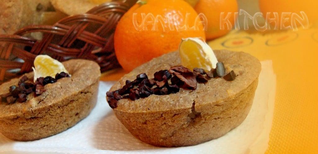Мъфини с круши, джинджифил и мандарини