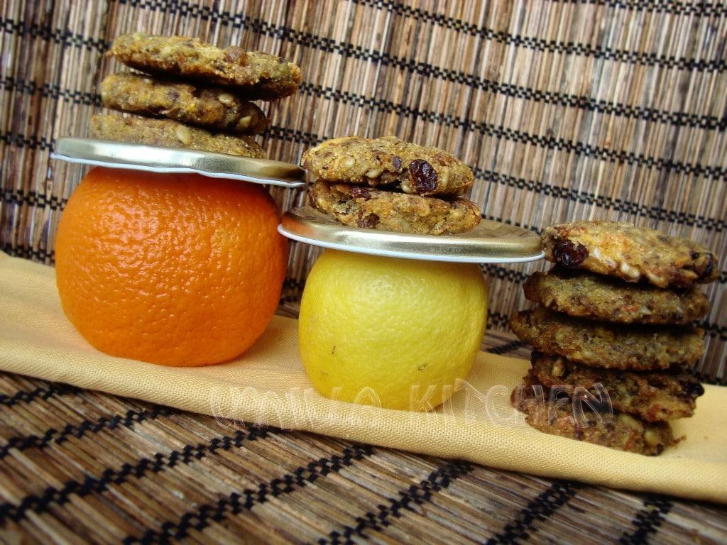 Цитрусови бесквити с моркови без глутен и захар!