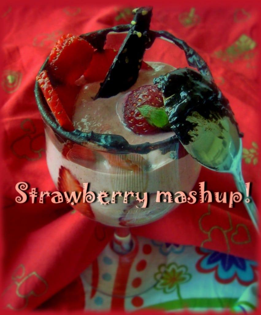 Ягодов сладолед или ягодов крем