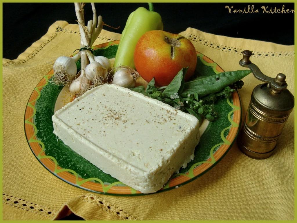 Твърдо сирене от кашу