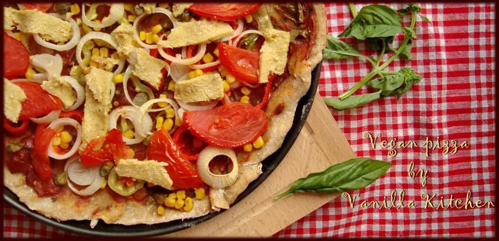 Веган пица и тайната съставка за тестото!