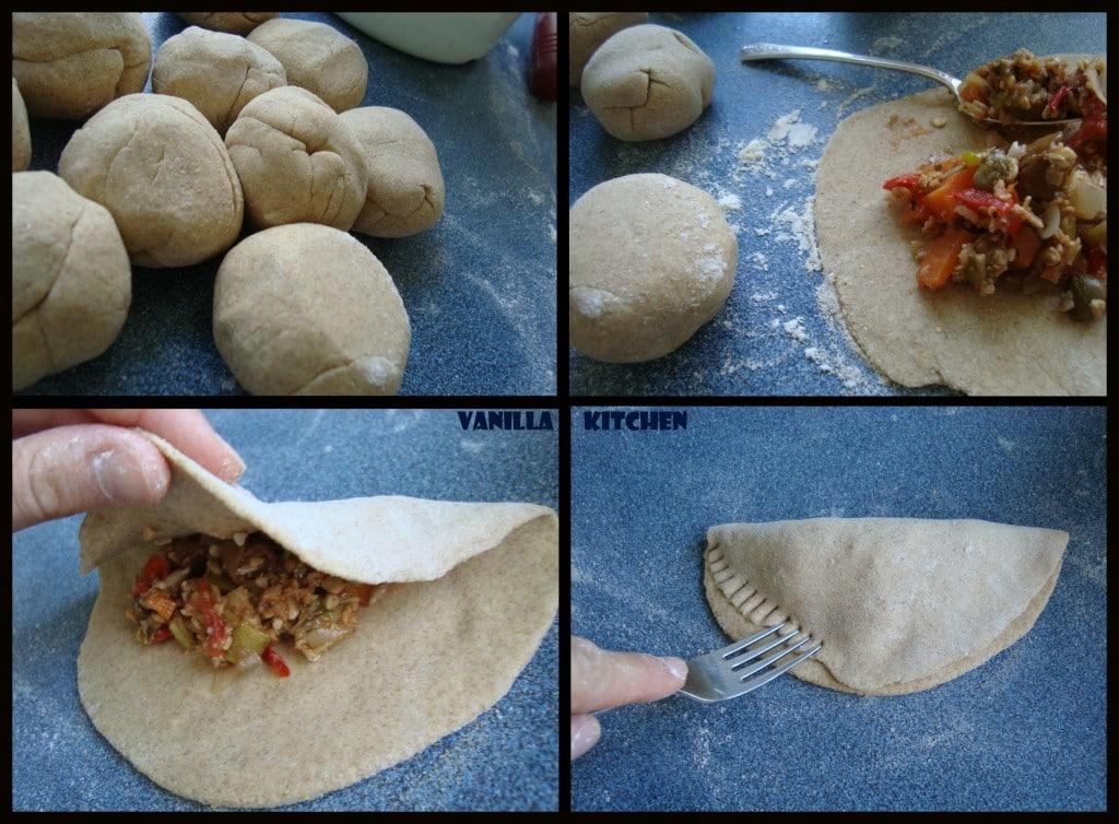 как се прави хлебче с плънка