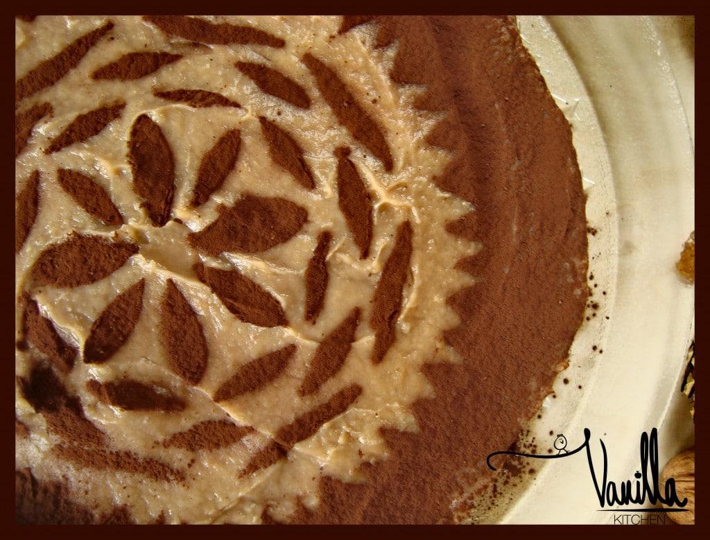 Орехова торта с кестенов крем
