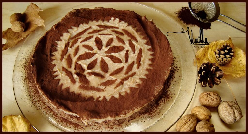 Тортата на моя живот…орехова с кестенов крем!