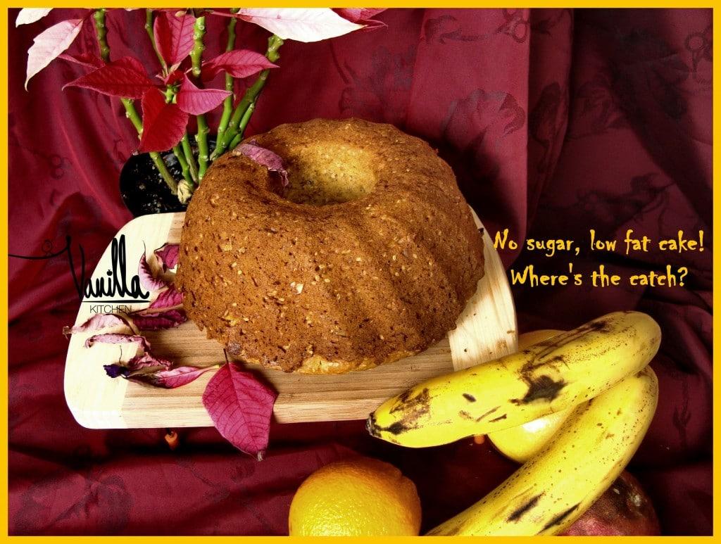 Плодов сладкиш без захар