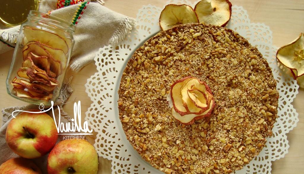 Житена торта с розичка от ябълки (приказка)