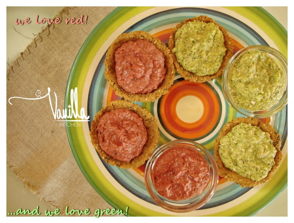 Суров дип от броколи и лимец
