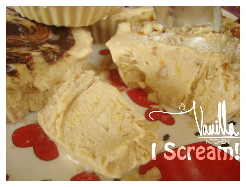 Разкошен веган сладолед с лукума