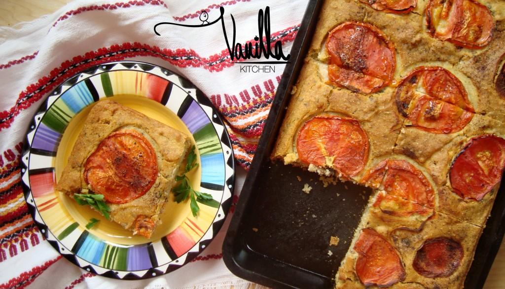 Бърза закуска с домати и маслини