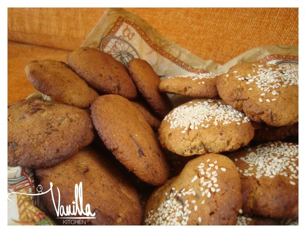 Безглутенови бисквити с круши