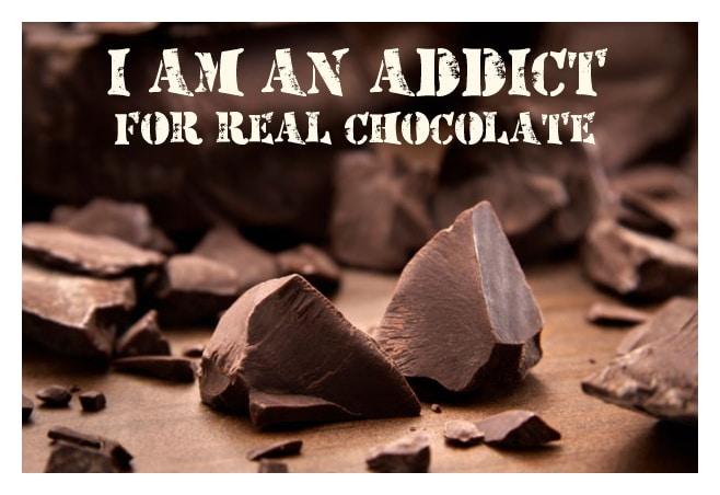 Истинският шоколад е без хидрогенирани мазнини