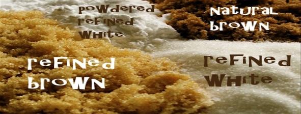 предпочитайте нерафинирана пред бяла захар