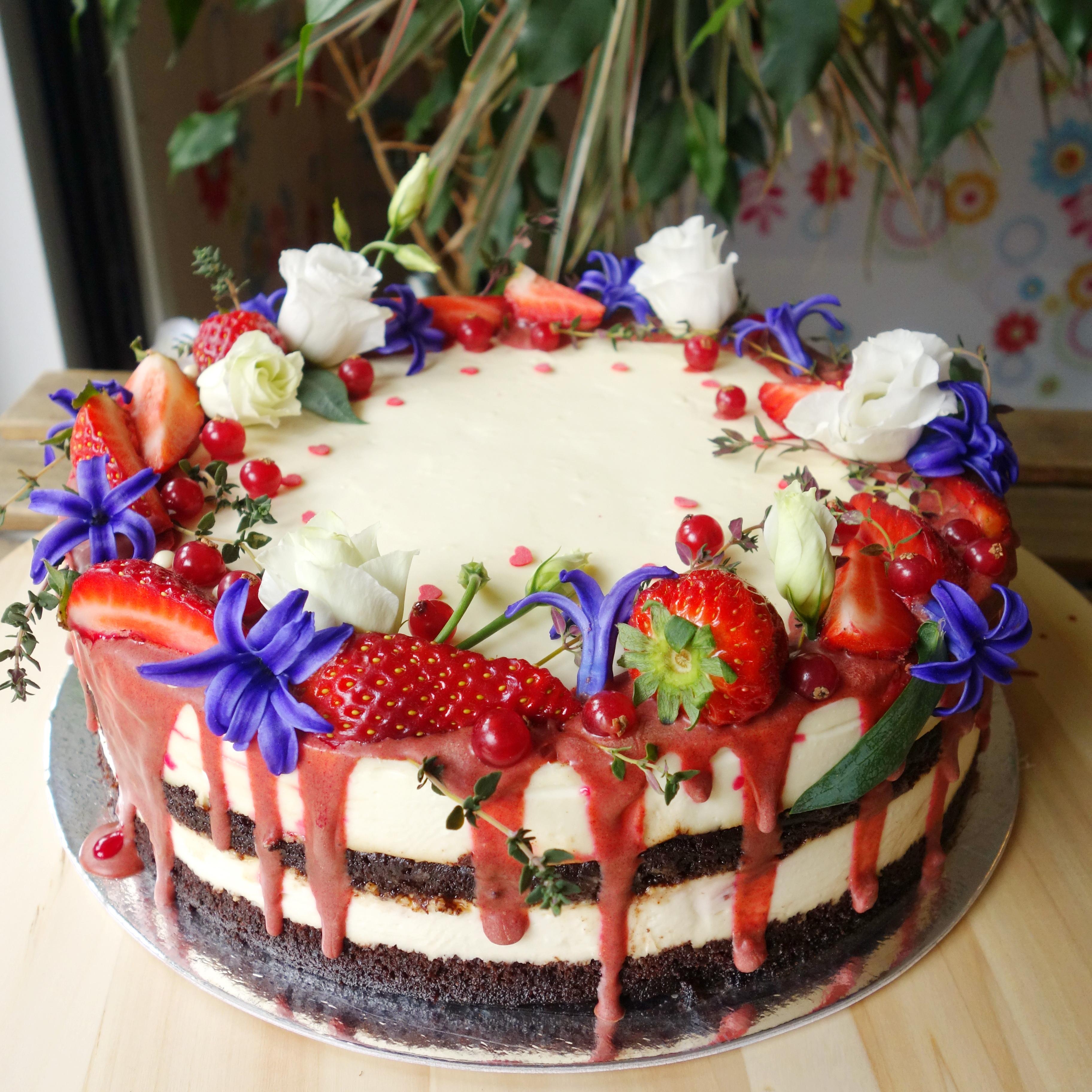 торта със зюмбюли