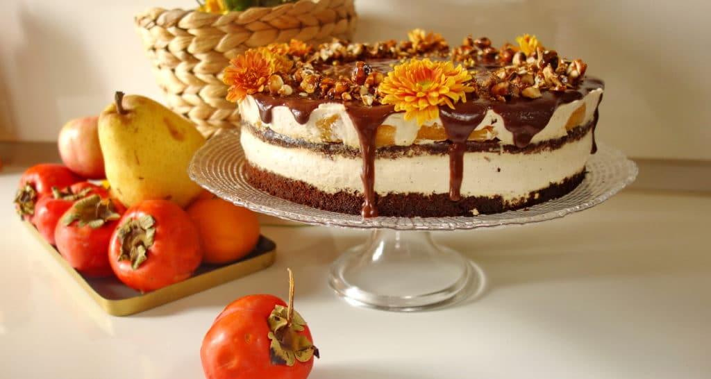 Есенна торта с лешников тахан
